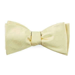 herringbone vow butter bow ties