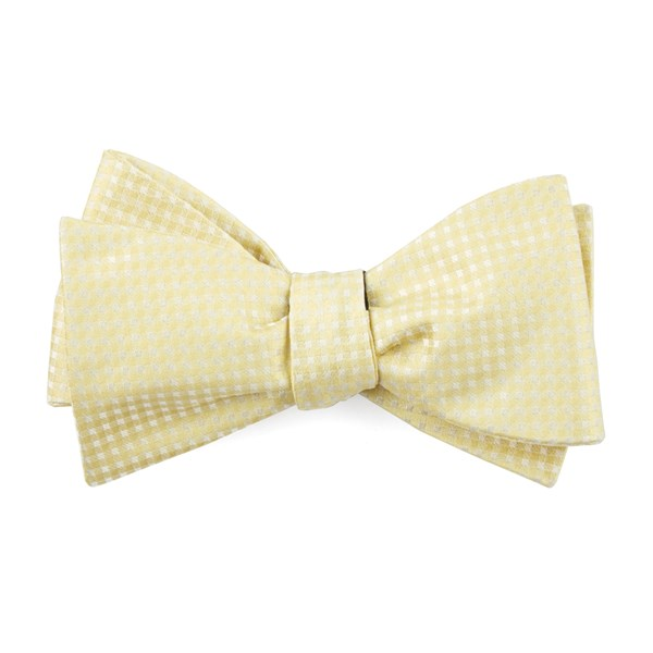 Butter Be Married Checks Bow Tie