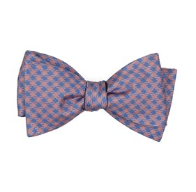 Pink Commix Checks bow ties