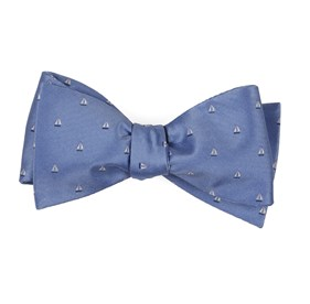 Light Blue Sailboat Sprint bow ties
