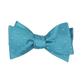 Turquoise Sailboat Sprint bow ties