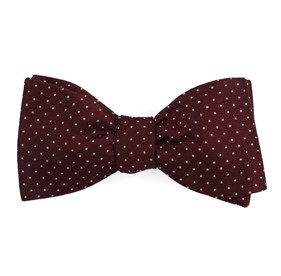 Wine Mini Dots bow ties