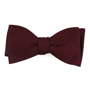 herringbone vow wine bow ties