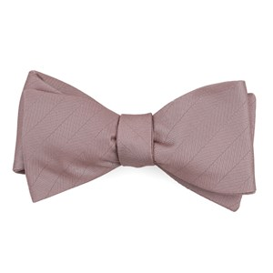 herringbone vow mauve stone bow ties