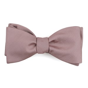grosgrain solid mauve stone boys bow ties