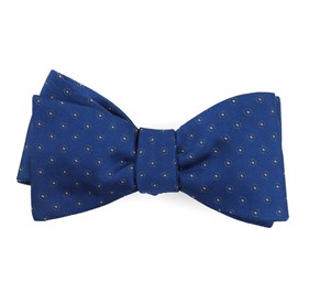 Royal Blue Sparkler Medallions bow ties