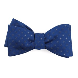 sparkler medallions royal blue bow ties