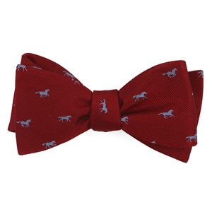 wild horses red bow ties