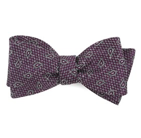 Azalea Pine Lake Paisley bow ties