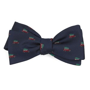 christmas vacation navy bow ties
