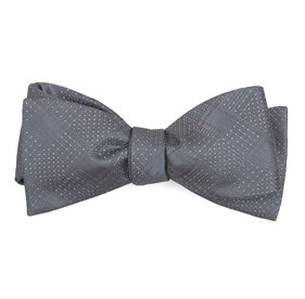 Silver City Block bow ties