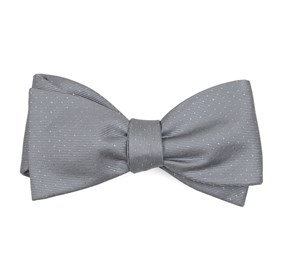 Silver Flicker bow ties