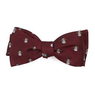 snowman goals red bow ties