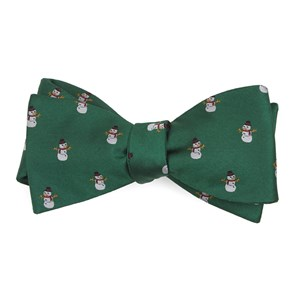 snowman goals kelly green bow ties