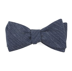 Navy West Ridge Solid bow ties