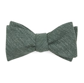Hunter Green West Ridge Solid bow ties