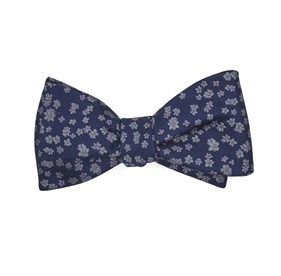 Lavender Free Fall Floral bow ties