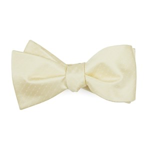 mini dots butter bow ties