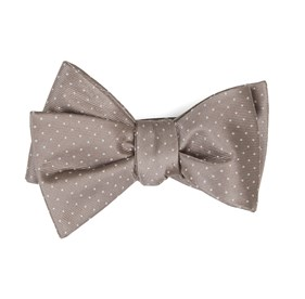 Sandstone Mini Dots bow ties