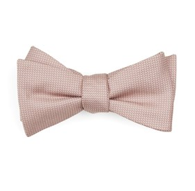 Blush Pink Union Solid bow ties
