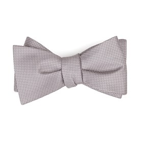 Mauve Stone Union Solid bow ties