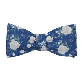 Royal Blue Hodgkiss Flowers bow ties