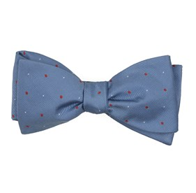 Light Blue Delisa Dots bow ties