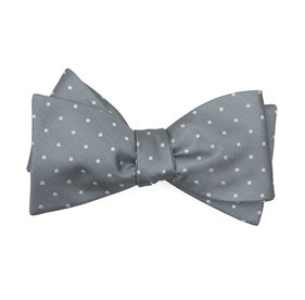 Silver Sage Mumu Weddings - Seaside Dot bow ties