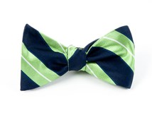 Bow Ties - NIFTY STRIPE - NAVY