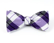 Bow Ties - MONSTER MADRAS - VIOLET
