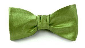 BOW TIES - SOLID SATIN - CLOVER