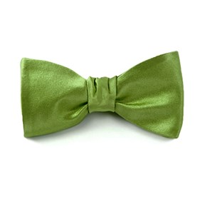 Clover Solid Satin bow ties