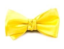BOW TIES - SOLID SATIN - YELLOW