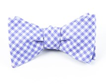 Bow Ties - CHECKED OUT - PURPLE