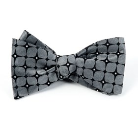 The Boutonniere By Dwyane Wade Charcoal Bow Ties