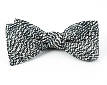 BOW TIES - COUNTESS SOLID - ARMY GREEN
