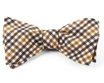 Bow Ties - SADDLE PLAID - ARMY GREEN