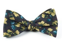 Bow Ties - MASTERPIECE FOLIAGE - DEEP BURGUNDY