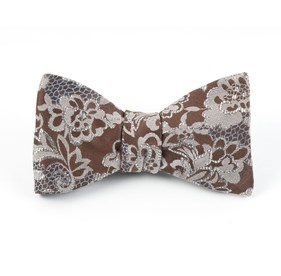 Holiday Lace By Dwyane Wade Brown Bow Ties