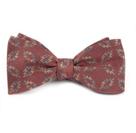 Slate Blue Teepee Tapestry By Dwyane Wade bow ties