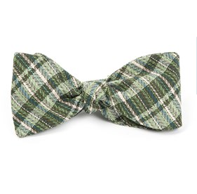 Blue Longboard Plaid By Dwyane Wade bow ties