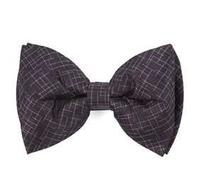 Holiday Maze By Dwyane Wade Eggplant Bow Ties