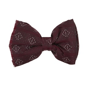 Burgundy Native Thread By Dwyane Wade bow ties