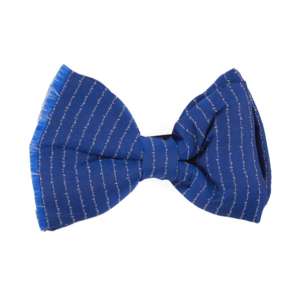 Royal Blue Unraveled Stripe By Dwyane Wade Bow Tie
