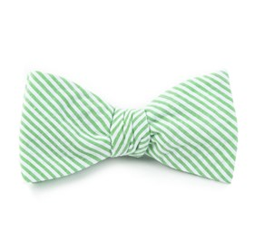 Key Lime Seersucker bow ties