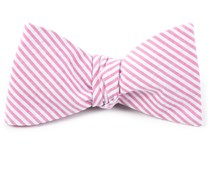BOW TIES - SEERSUCKER - PINK