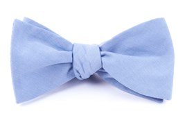 Bow Ties - CLASSIC CHAMBRAY - SKY BLUE