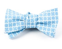 Bow Ties - IRON GATE - SKY BLUE