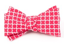 Bow Ties - IRON GATE - APPLE RED