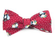Bow Ties - OUTLAND FLORAL - RED